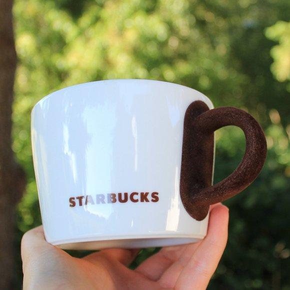 Starbucks 2010 velvet handle coffee mug